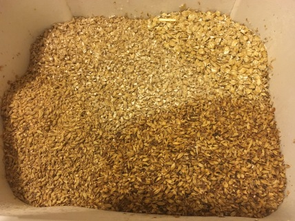 Pale mild malt bill
